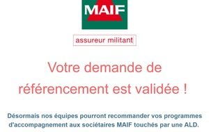 REFERENCEMENT MAIF